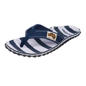 GUMBIES Islander Sandalen Dames blauw/wit